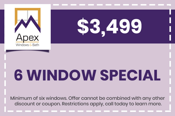 6 Window Special, $3,499.00
